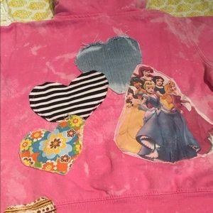 Other - Custom Disney princess sweatshirt size 5:6